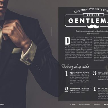 Old School Etiquette for the Modern Gentleman – Men's Muscle & Health Magazine